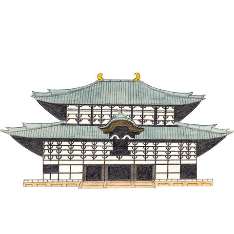 illust: 華厳宗大本山 東大寺