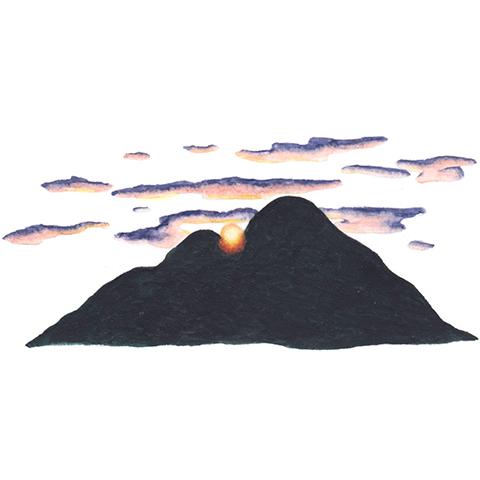 illust: 二上山(ふたかみやま)