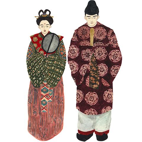 illust: 天平衣装(天平時代の服)